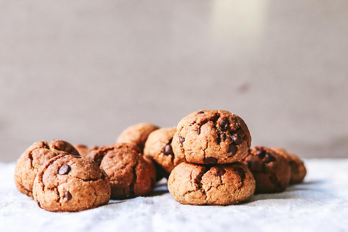 galletas con chips de chocolate