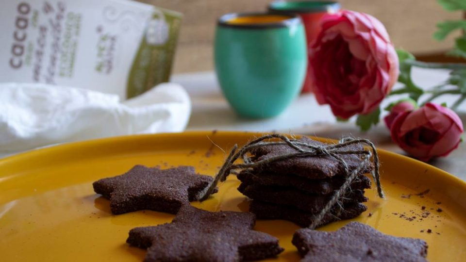 Galletas cacao con superfoods