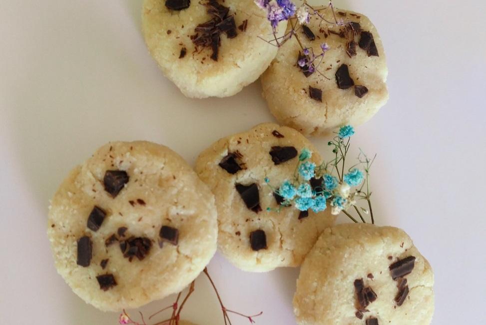 receta de galletas con bebida de almendra