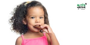 Chocolate de Comercio Justo ecológico y los niños