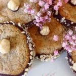 Receta de galletas de avellana con borde de chocolate - AlterNativa3